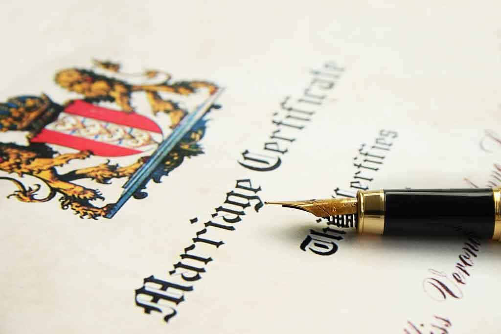 Traducción jurada y jurídica de certificados de matrimonio